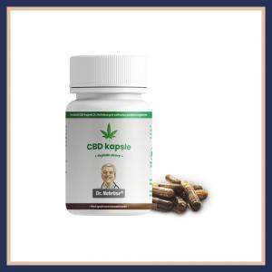 Revoluční kapsle 10 mg CBD Dr. Nehrbse