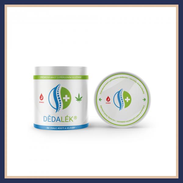 Dědalék® - Prémiová mast s přírodním složením na kosti, klouby a svaly